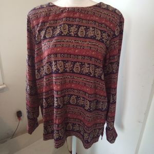 Alfred dunner plus size top size 14